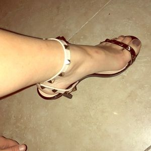 Studded heels!